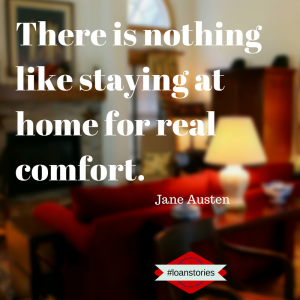 There is nothing like staying at home