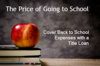 The Cost of Going Back to School