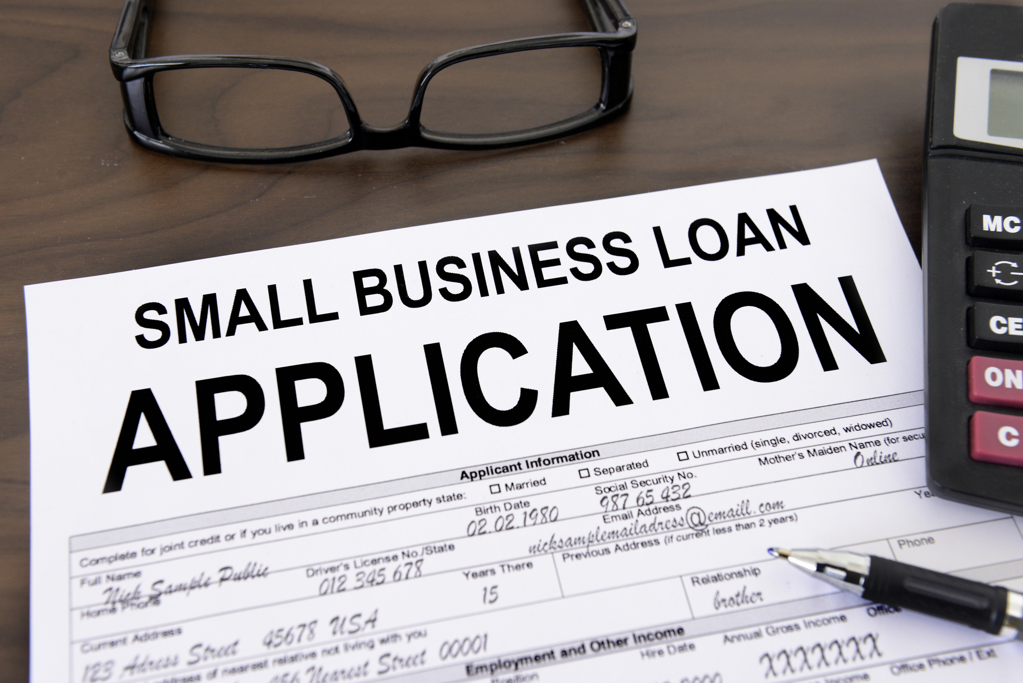 loans for small businesses